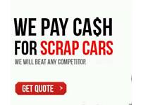 WE BUY SCRAP CARS AND VANS SAME DAY COLLECTION