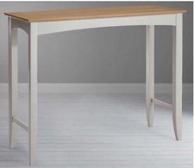 John Lewis Alba Bar Table in Soft Grey
