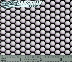 Ccg Universal 16 X 48 Perf Hexagon Aluminum Grill Mesh