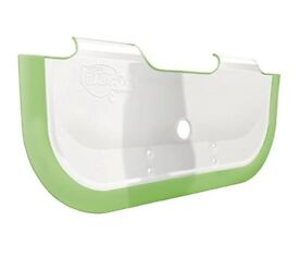 BabyDam Bathwater Barrier (White/Gree