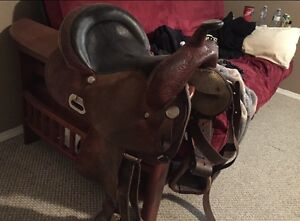 Circle Y barrel saddle