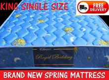 DELIVERED FREE Inner spring Mattress KING SINGLE NEW New Farm Brisbane North East Preview