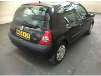 2004 RENAULT CLIO 1.1 (75) PETROL MANUAL 3 DOOR