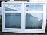Double glazed window. Size 1780 mm Long x 1250 mm High including the sill.