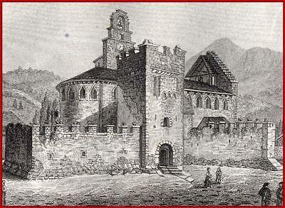 Hochstühle Pyrenäen Kirche De Luz Heiliger Sauveur 1838 ()