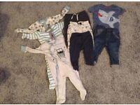 Baby boy clothes bundle (9-12months)