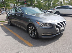 9 months- $478/month all-in- 2016 Hyundai Genesis Sedan AWD 3.8L