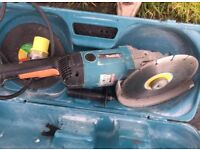 Makita 110 volt 9in angle grinder/cutter