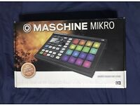 Native Instruments Maschine Native Instruments Maschine Mikro MK2 Groove Production Studio - Black