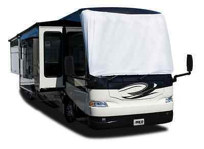 Adco 2600 DuPont Tyvek RV No-Drill Class A Motorhome Windshield Cover