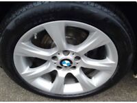 Genuine BMW 3 series f30/31/33/34 18 inch Alloy Wheels in excellent condition.