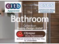 Olympus Bathrooms and Tiling fitters installation tilers plumbing plumbers