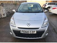 Renault Clio 1.2 petrol 5 door 2010 plate
