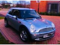 Mini One (made by BMW) with panoramic glass roof