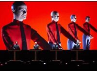 2 x Kraftwerk tickets, Brighton Centre 07/06/17