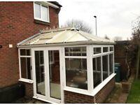 Used UPVC conservatory