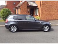 2006 BMW 118D GREY ,RECENTLY SERVICED BY A BMW APPROVED GARAGE ,TAXED AND MOT £2350 NEGOTIABLE