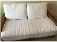 Futon Company 2 Seater Dark Vienna Sofa Bed, Good Condition- SAME DAY DELIVERY