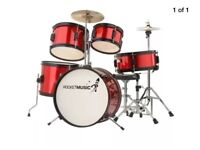 Kids 5 piece Drum Kit Rocketmusic by Stagg