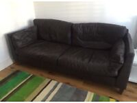 Marks and Spencers Autograph leather Sofa