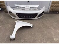 Genuine Kia Picanto Front Bumper & Drivers Side Front Wing 2013-2014-2015