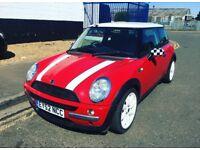 Mini British red 12month mot new steering pump