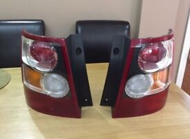 Range Rover Sort Rear Light Units