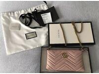 GUCCI authentic mini bag gold chain