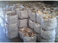 1 Tonne Dumpy Bag Of Hardwood Log Firewood *FREE DELIVERY*