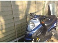 2007 huatian 50cc power 4t moped (project£65ono)