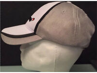 MCLAREN RACING CAP 3D Imaging On Front BNWT Grey White