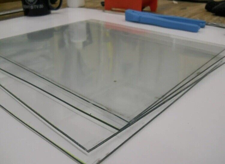 Wavy Glass, Antique Restoration, Custom Cut To Size Requested Per Square Inch