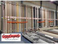 Carpet, Vinyl and Laminate flooring £5.99sqm