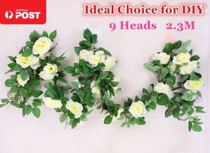 Rose Flowers Silk Bouquet Bridal Home Wedding Decoration DIY