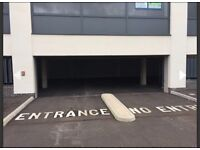 Secure underground parking space with fob access.Walking distance to MoD & Abbey Wood train station