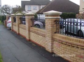 Fully Qualified Bricklayers - From Bespoke Garden walls too extensions. All needs catered.