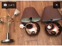 3 lamps great condition