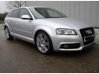 AUDI A3 8p BLACK EDITION 5DR 2.0TFSI S TRONIC 197bhp Quattro BREAKING CZZ SPARES OR REPAIRS S3 RS3