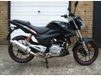 Lexmotor 125cc Upgraded, low miles, learner legal