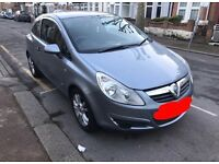 08 Vauxhall Corsa 1.2 litre silver and manual