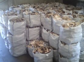 Dumpy Bag Of Good Logs Fire wood FREE DELIVERY