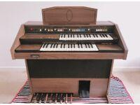 Spanish Oak electric organ