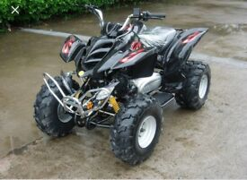WANTED !!Any auto quad 125cc to 200 cc