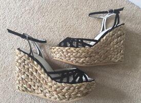 New LK Bennett Wedge shoes
