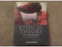 Ethical Theory - An Anthology