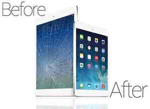 Screen Repair iPad 2 - 3 - 4 ($79) - iPad Mini ($89) - Air ($99)
