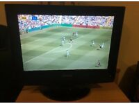 "TECHNIKA ""15 LCD HD TV WITH BUILT IN DVD COMBI"