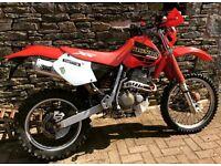 2001 Honda xr 400 xr400 nice original example road legal enduro bike