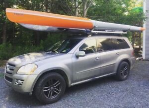 Kayak Surfski and Canoe roof racks