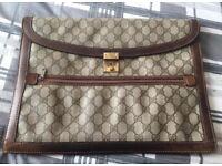 Authentic Vintage Gucci Briefcase Bag Unisex